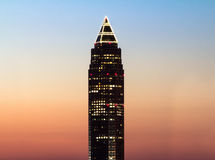 pencil-tower-messeturm-sunset-frankfurt-germany-31908374